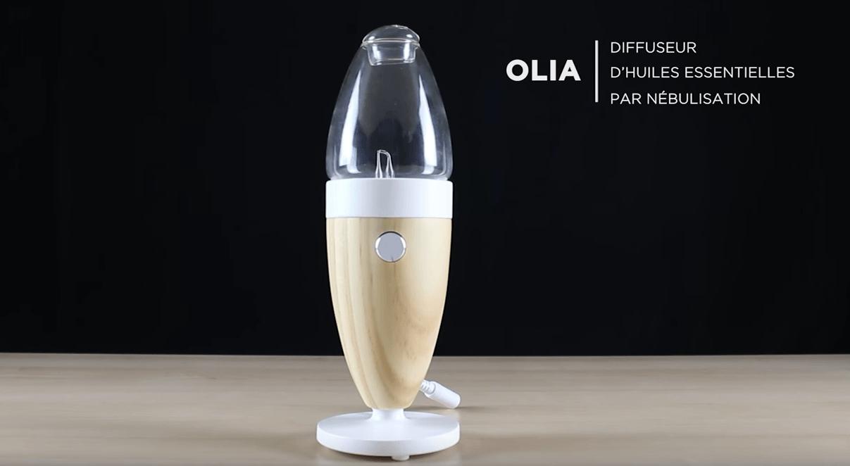 Mode d'emploi Olia, diffuseur d'huiles essentielles par nébulisation